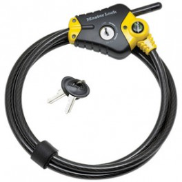 Câble de verrouillage réglable Master Lock Python 8418EURD
