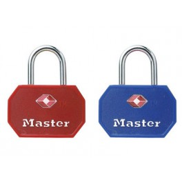 Lot de 2 cadenas Master Lock 4681EURTBLR